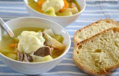 Σούπα με μοσχαράκι και λαχανικά - Anthomeli Mashed Potatoes, Ethnic Recipes, Food, Whipped Potatoes, Smash Potatoes, Essen, Meals, Yemek, Eten