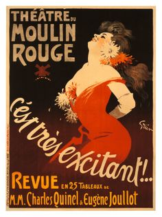 Uso regular do cinábio (vermelho) e amarelo. Henri de Toulouse-Lautrec