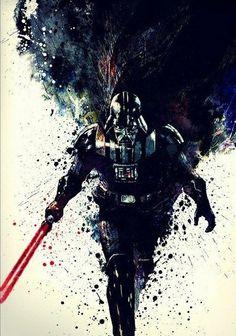 Anakin Vader, Anakin Skywalker, Star Wars Painting, Shadow Painting, Nave Star Wars, Star Wars Sith, Star Wars Lightsaber, Images Star Wars, Star Wars Tattoo