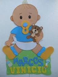 Imagen relacionada Baby Binky, Baby Shawer, Baby Scrapbook, Scrapbook Paper, Baby Decor, Nursery Decor, Cumple Toy Story, Plastic Babies, Baptism Favors