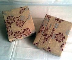Interesting Gift Wrapping Japanese Style With Lovely Design Of Wrapping Papers: Impressive Gift Wrapping Japanese Style With Brown Patterned Paper ~ kaisahan.net Decorating Inspiration