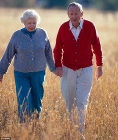Exercise keeps Alzheimer's at bay: Walking releases chemical which helps keep the brain healthy.