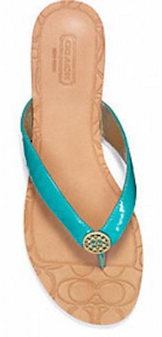 Chic thong sandal in #turquoise http://rstyle.me/n/hc8j5nyg6