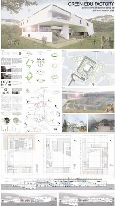 What are the types of architectural design portfolio typesetting? Presentation Board Design, Architecture Presentation Board, Architecture Board, Architecture Student, Architecture Portfolio, Landscape Architecture, Architecture Design, Futuristic Architecture, Planer Layout