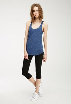 Heathered Knit Tank | Forever 21 - 2000115130