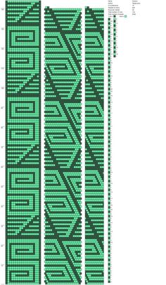 20 around tubular bead crochet rope pattern Bead Crochet Rope, Beaded Crochet, Peyote Stitch, Beading Patterns, Crochet Patterns, Perler Beads, Loom, Crafts, Beaded Jewelry