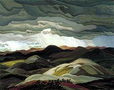 """""""Snow Clouds"""" Franklin Carmichael, 1938"""