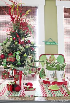Christmas on the island - Southern Hospitality Christmas Home Tour 2014 - Pt 2
