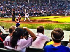 Cubs home run derby vs Angels