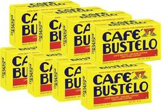 Bustelo Cuban Coffee 6 oz Vacuum Bag Pack of 8 -- Read more at the affiliate link Amazon.com on image.