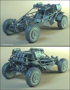 Assault buggy, Alexander Sychov on ArtStation at https://www.artstation.com/artwork/assault-buggy