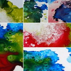 Finding Creativity: Some New Coasters and Some Alcohol Ink