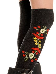 Polish Folk Socks at Free People Clothing Boutique