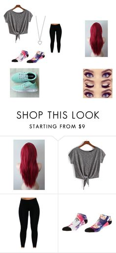 """""""About to have an anxiety attack*breathing heavily*-j"""" by jessica-481 ❤ liked on Polyvore featuring NIKE and Yves Saint Laurent"""