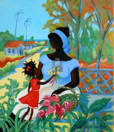 caribbean art - Google Search