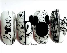 nails with butterflies short \ nails with butterflies , nails with butterflies acrylic , nails with butterflies short , nails with butterflies design , nails with butterflies blue Stylish Nails, Trendy Nails, Cute Nails, My Nails, Disneyland Nails, Disney Acrylic Nails, Coffin Nails Designs Summer, Anime Nails, Mickey Nails