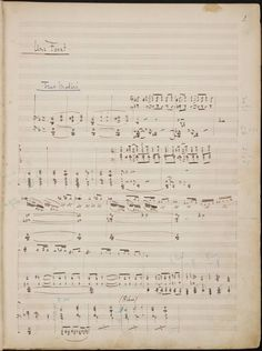 "Manuscript in short score: Debussy, Pelléas et Mélisande, Act I, Sc. 1.(Beinecke Rare Book and Manuscript Coll., Yale Univ.)   Interesting that something in the musical hand of Debussy seems to reflect the core values of French music in the late 19th and early 20th Centuries—contrary to the often aired popular misconception of ""Impressionism""."