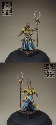 Warriors of Chaos Sorcerer Lord.