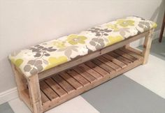 Best DIY Pallet Furniture Ideas - DIY Reclaimed Wood Pallet Bench - Cool Pallet Tables, Sofas, End Tables, Coffee Table, Bookcases, Wine Rack, Beds and Shelves - Rustic Wooden Pallet Furniture Made Easy With Step by Step Tutorials - Quick DIY Projects and Crafts by DIY Joy http://diyjoy.com/best-diy-pallet-furniture-ideas