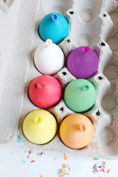 Easter eggs that look just like balloons!