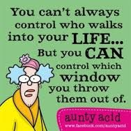 Control who walks into your life :-)