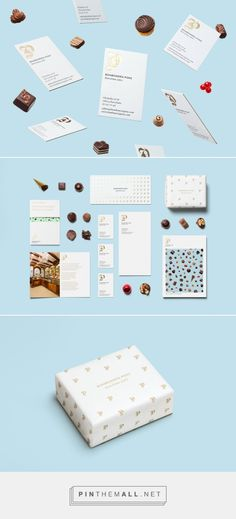 New Brand Identity for Bombonería Pons by Mucho — BP&O... - a grouped images picture - Pin Them All