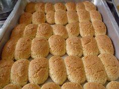 Receita de Biscoito vovó Marisa Ingredientes 3 xícaras de farinha de trigo (hoje uso a farinha com fermento) 1 xícara de açúcar (quem gostar mais doce pode colocar mais 1/2 xícara) 1 pitada de sal 3 colheres de margarina 2 ovos inteiros 100 g de coco ralado leite até dar o ponto de enrolar Modo…