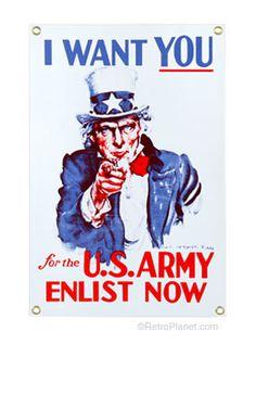 I Want You U.S. Army Uncle Sam