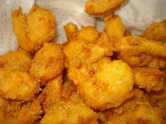 Southern Fried Shrimp Recipe {Guest Post} – The B Keeps Us Honest Southern Fried Shrimp Recipe, Fried Shrimp Recipes, Shrimp Dishes, Fish Dishes, Fish Recipes, Seafood Recipes, Great Recipes, Cooking Recipes, Favorite Recipes