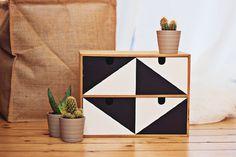 Ikea Moppe Mini Storage Chest DIY Hacks | Apartment Therapy