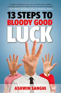Book Review: 13 Steps to Bloody Good Luck