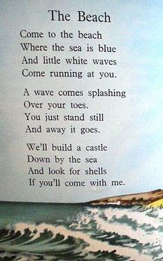 Summer Beach Quotes, Beach Poems, Ocean Poem, Ocean Quotes, Sand Quotes, Seaside Quotes, Florida Quotes, Romantic Quotes, Farming