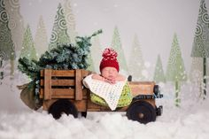 Newborn Photography Prop Newborn Photo Prop Truck by MrAndMrsAndCo