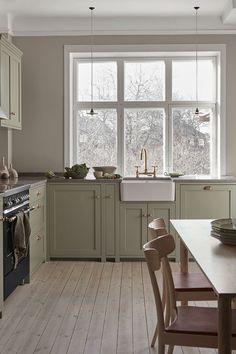Cute Home Decor, Home Decor Kitchen, Home Decor Bedroom, Cheap Home Decor, Kitchen Interior, Home Kitchens, Interior Modern, Interior Architecture, Nordic Kitchen