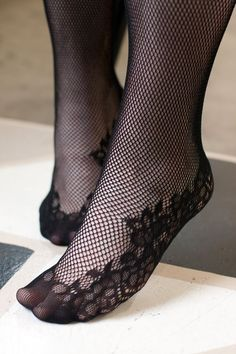 d26cbdec628 Lace Top Fishnet Stockings with Attached Garter Belt