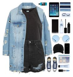 """""""4th place"""" by sipoczanna ❤ liked on Polyvore featuring LE3NO, River Island, Topshop, Ray-Ban, George, Forever 21, rag & bone, Acne Studios, Converse and Anastasia Beverly Hills"""
