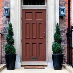 Exterior Victorian Martineau Made to Measure 8 Panel Door - Lifestyle Image. External Doors, Traditional Doors, Panel Doors, French Doors, Bespoke, Entrance, Period, Garage Doors, Victorian