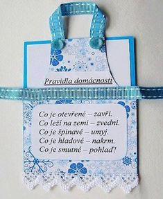 do kuchyně Diy And Crafts, Paper Crafts, New Tricks, Motto, Album, Wise Words, Cardmaking, Quotations, Clip Art
