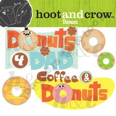 Coffee and Donut Clip art