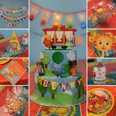 Daniel Tiger Birthday Party!  We had a grrrrific time! So much fun! I will add link to my blog about Ben's 2nd Birthday later this week