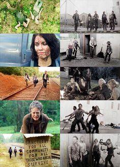 duality challenge: split / whole ↳The Walking Dead