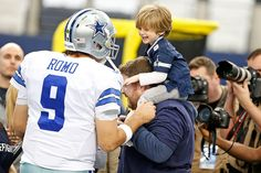 Romo's cutest fan #DETvsDAL