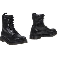 Dr. Martens Ankle Boots ($160) ❤ liked on Polyvore