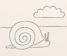 Cum se deseneaza un melc - By Oana Tudor, Symbols, Letters, Snails, Letter, Lettering, Glyphs, Calligraphy, Icons