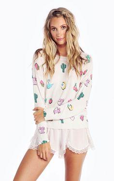 Wildfox Couture Digi Love Coraline Sweater
