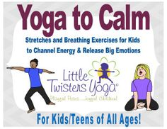 Little Twisters Yoga & Emotional Wellness Yoga For Kids, Exercise For Kids, Family Yoga, Childrens Yoga, Calming Activities, Health Resources, Yoga Sequences, Feel Tired, Yoga Teacher