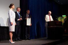 Crown Princess Victoria attended Stockholm Chamber of Commerce's Export Hermes Award in Stockholm, Sweden.