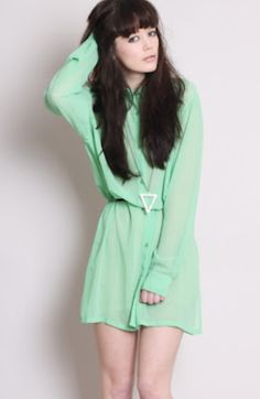Mint top and could go for a dress as well