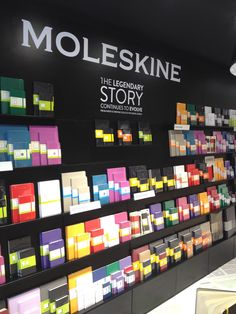 MOLESKINE: The Legendary Story continues in Covent Garden. #Retail #London