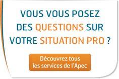 L'APEC, l'Association pour l'emploi des cadres, est une association française, privée et paritaire, financée par les cotisations des cadres et des entreprises, dont l'objectif est le service et le conseil aux entreprises, aux cadres sur les sujets touchant à l'emploi de ces derniers et aux jeunes issus de l'enseignement supérieur - http://www.pole-emploi.fr/accueil/
